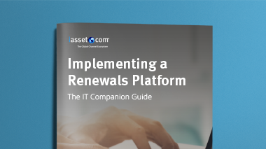 Implementing a Renewals Platform